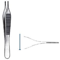 Adson forceps 15cm serrated
