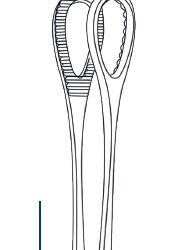 Foerster forceps 18cm