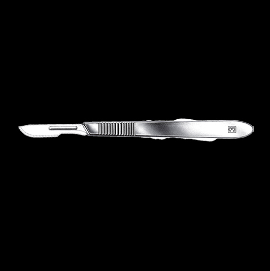 Scalpel handle No.3 standard