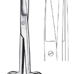 Scissor straight SH/BL 16.5cm