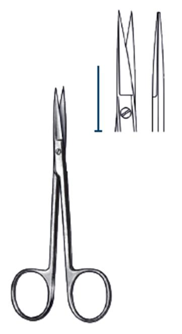 Iris Scissor str flat 11.5cm