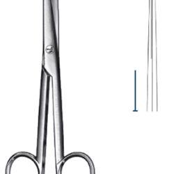 Mayo scissors straight 14.5cm