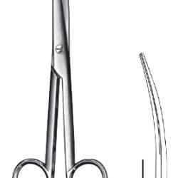 Mayo scissors curved 14cm