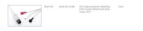 MEC1200 ECG cable