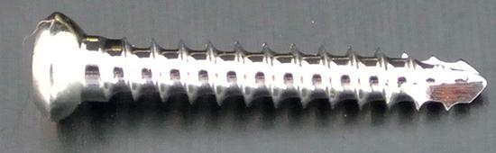 2.4mm x 16mm ss c/screw s/tap