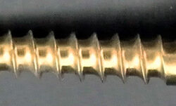 3.5mm x 22mm Ti c/screw s/tap
