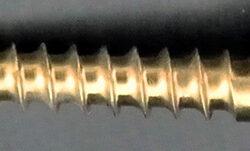 3.5mm x 38mm Ti C/Screw S/Tap