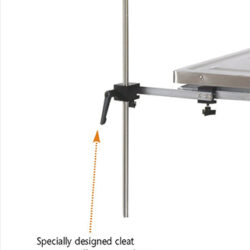 Adj. height instrument table