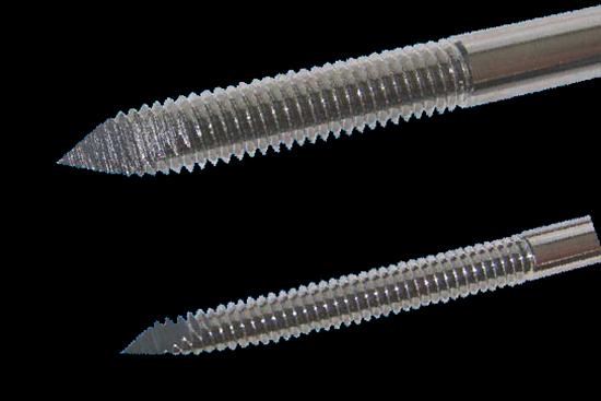 """1/4""""x12"""" Stein bone pin end th"""