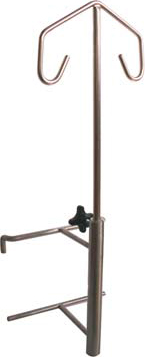 IV Drip stand cage mount